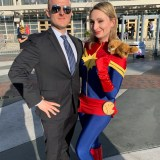 Long Beach Comic Expo 2019 - Agent Coulson and Captain Marvel