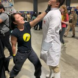 Long Beach Comic Expo 2019 - Captain Hammer and Doctor Horrible