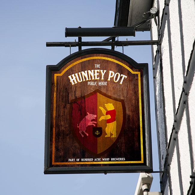 British pub culture Winnie the Pooh