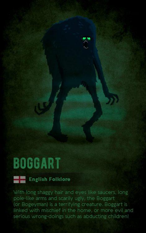 British folklore creature