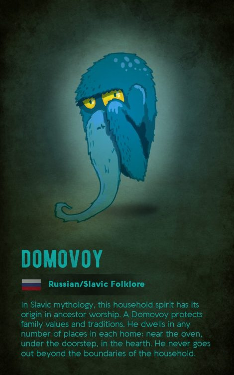 Russian mythical creatures