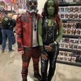 Amazing Las Vegas Comic-Con 2019 - Starlord and Gamora