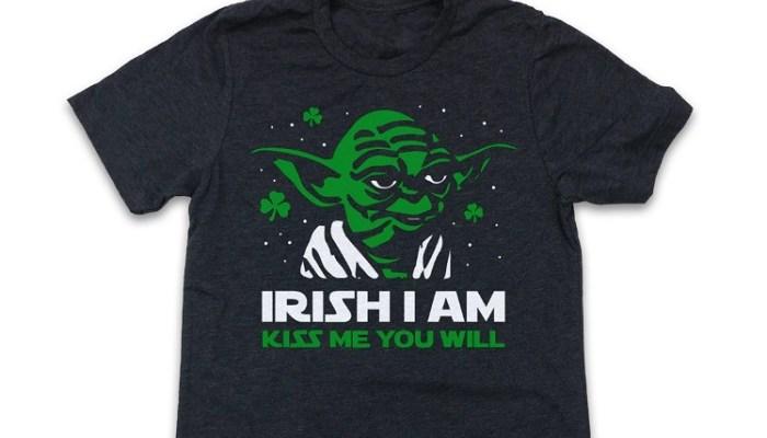 Yoda St. Patrick's Day Shirt