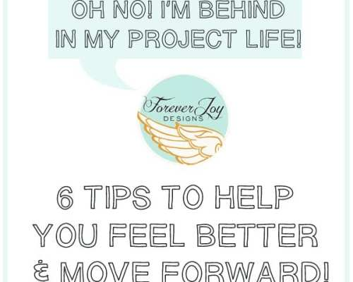 """How to happily cope with being """"behind"""" in Project Life"""