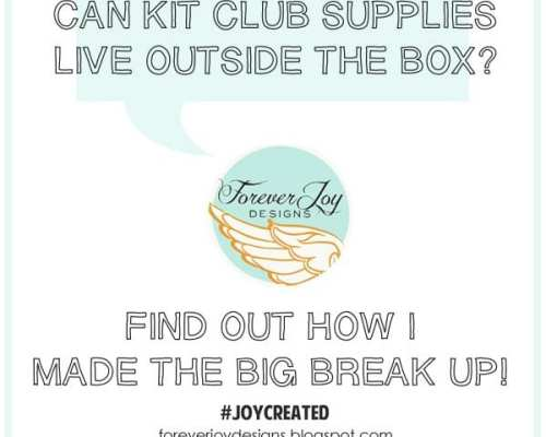 Thinking Outside the Box of Scrapbooking Kit Supplies