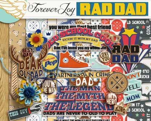 Let's celebrate all the RAD DADS!