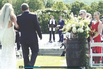 Von Trapp Lodge Wedding