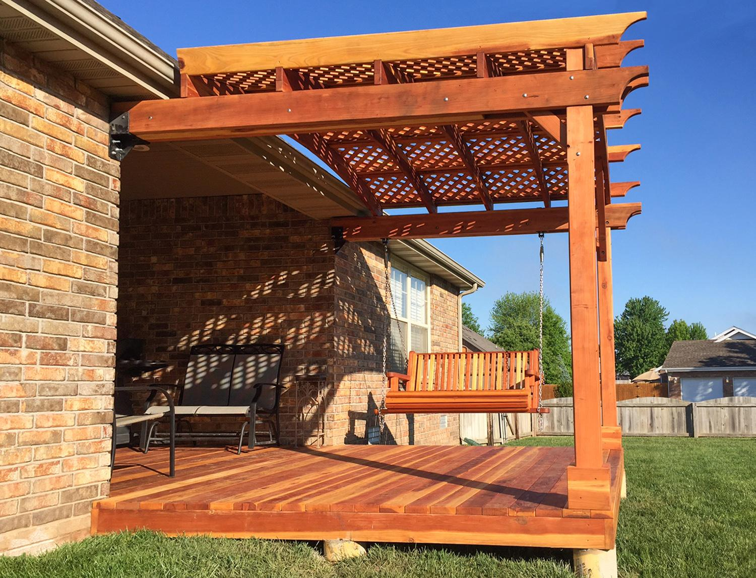 a pergola of your own but are stuck on deciding if you want to purchase a prefab pergola kit or build your own here are some pros and cons of each - Pergola Kit