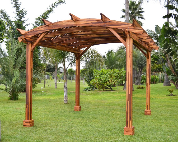 Arched Garden Pergola