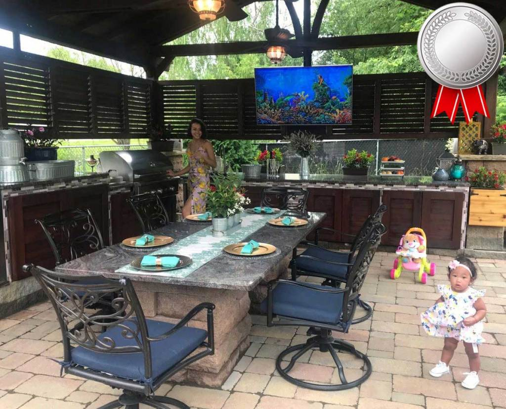 Karaoke dinner parties? Quiet moments? This family's Del Norte Kitchen Pavilion does it all