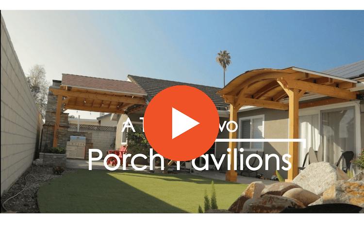 Video Attached Porch Pavilion