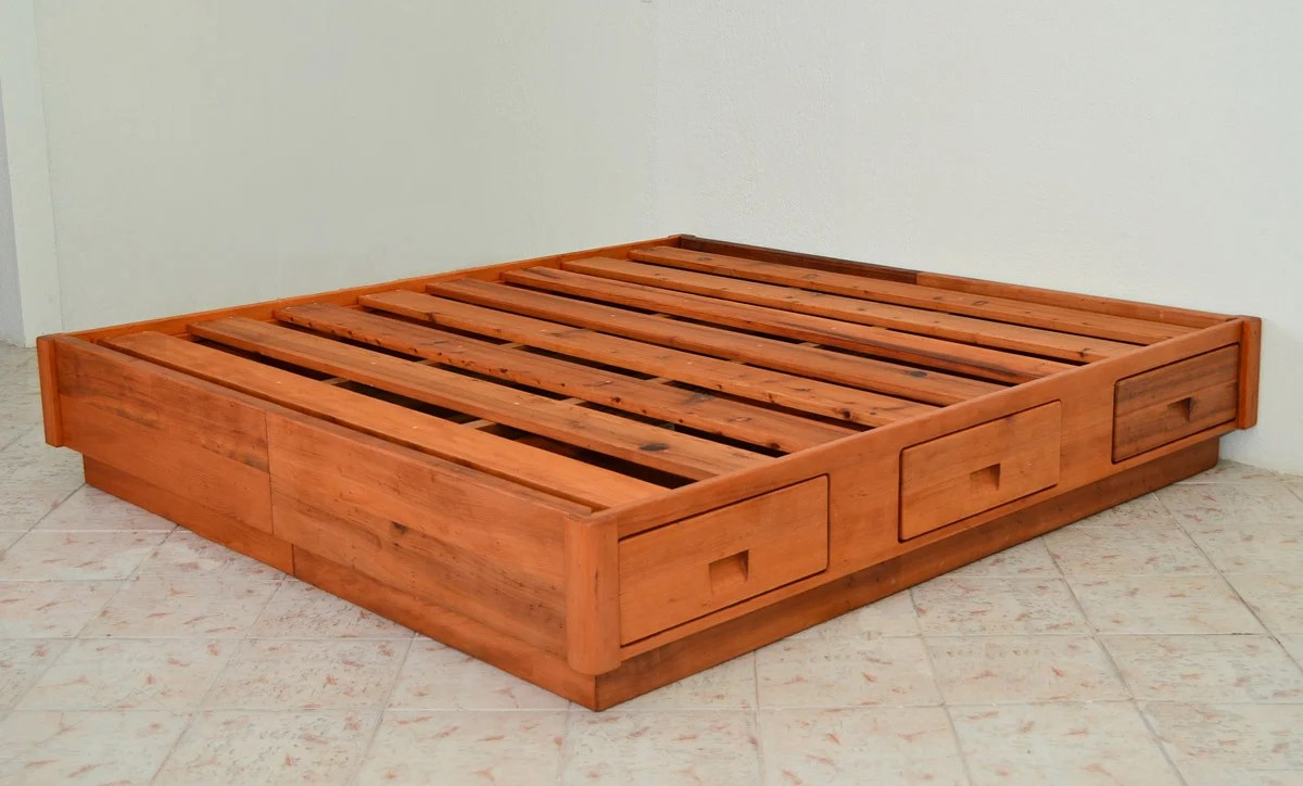 Chest Beds Forever Redwood