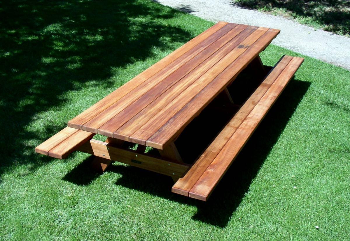 large picnic table plans