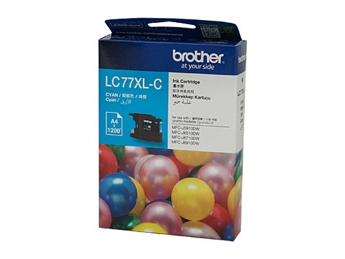 Brother LC77XL Cyan Ink Cart