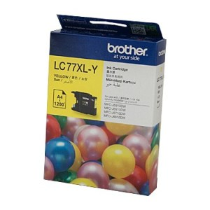 Brother LC77XL Yellow Ink Cart