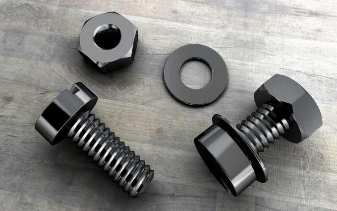 3d nuts and bolts wallpaper