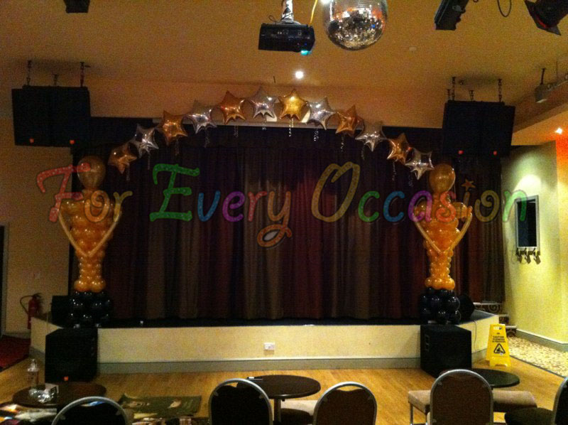 Hollywood Theme Arch For Every Occasion Balloon Artists Ltd