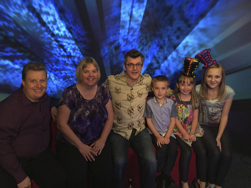 Joe Pasquale with www.foreveryoccasion.co.uk