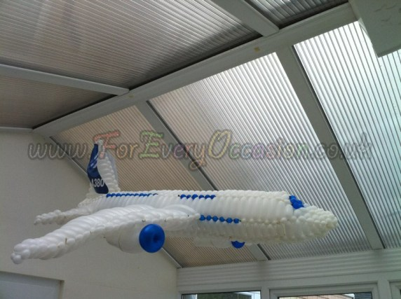 Airbus A380 Balloon Model