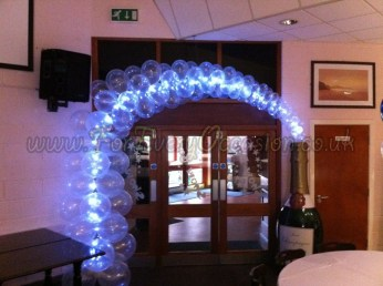 Champagne Bottle Arch