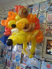Lion Balloon Mask