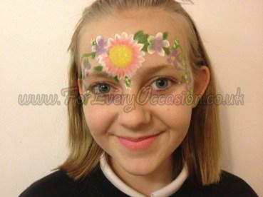 Flower Garden Face Paint