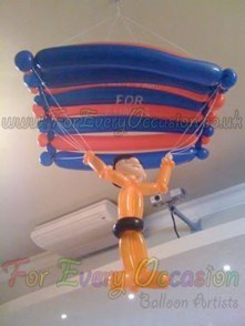Parachute Balloon Model