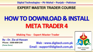 How To Download & Install MT4 & Demo Account In Urdu Hindi