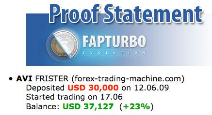 Proof 2 FAP Turbo Evolution