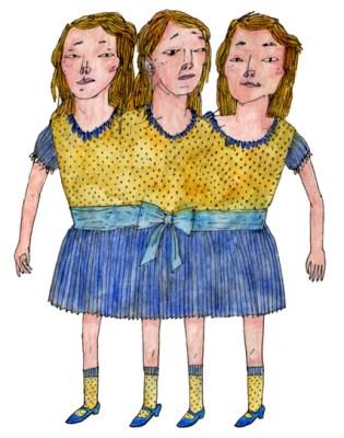 Three-Headed Girl (personal work)