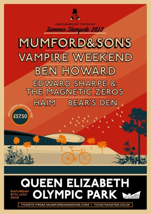 Mumford & Sons - Summer Stampede 2013