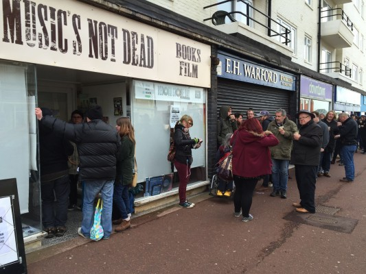 Record Store Day at Music's Not Dead