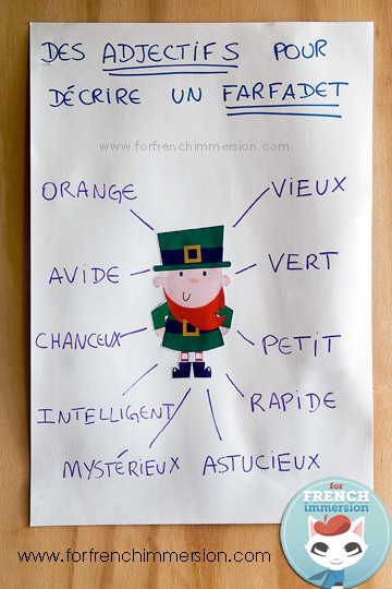 St Patricks Day French Anchor Chart Free Printables For French