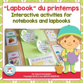 French Spring Lapbook: lapbook du printemps