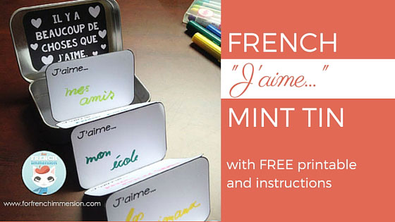 French valentines day craft for french immersion free printable french valentines day craft the jaime mint tin reheart Gallery