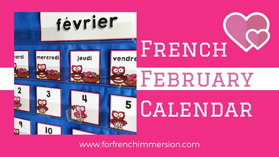 French February Calendar Cards - with questions on the back. Add extra practice to your calendar routine!
