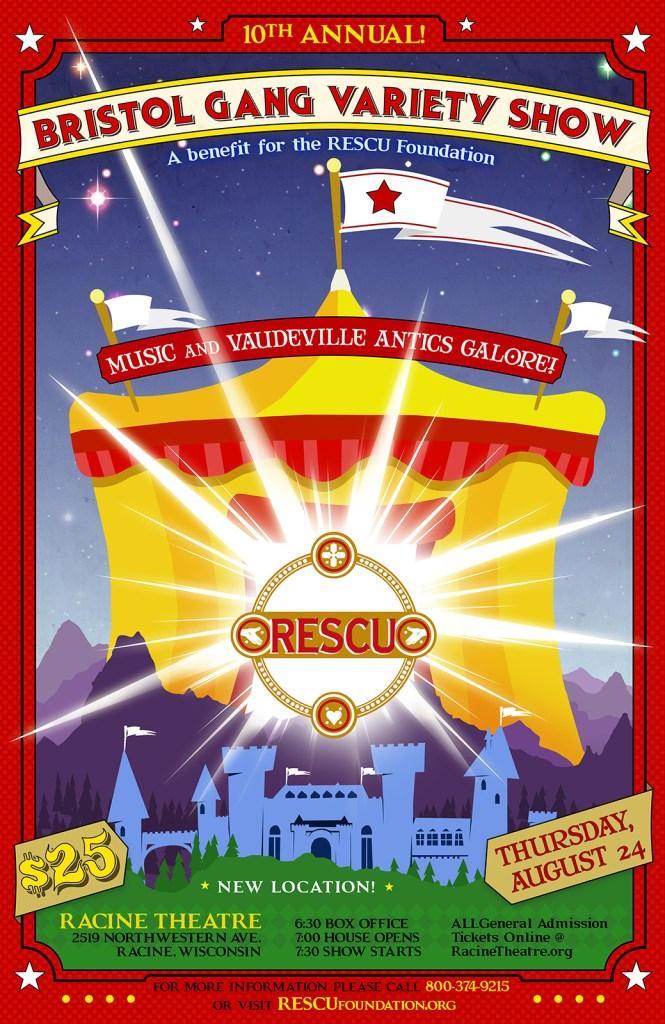 RESCU Vaudeveille poster 2017