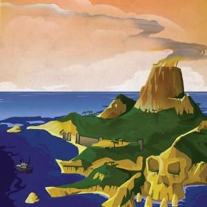 Skull Island Travel Poster