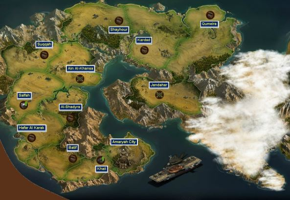Forge of Empires World Map 6