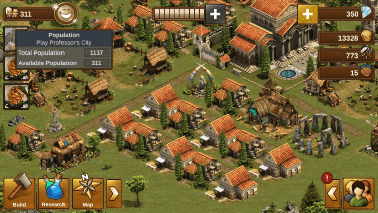 forge of empires great buildings