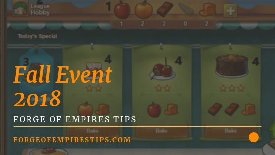 Forge of Empires Fall Event