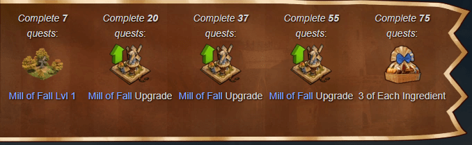 Forge of Empires Fall Event 2018