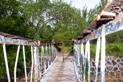 Cool footbridge