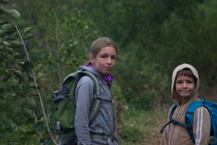 These kids will happily wake up at 5am for a good hike