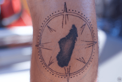 Brady's Compass (unshaded)