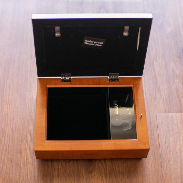 Footprints Music Box