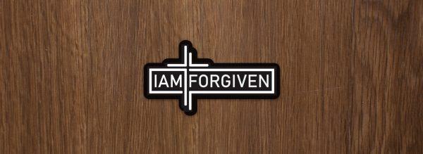 IAMFORGIVEN Sticker
