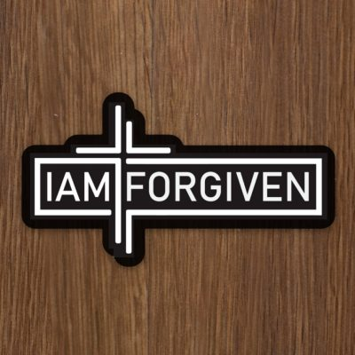 IAMFORGIVEN Sticker