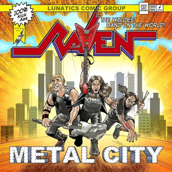 RAVEN (UK) – Metal City