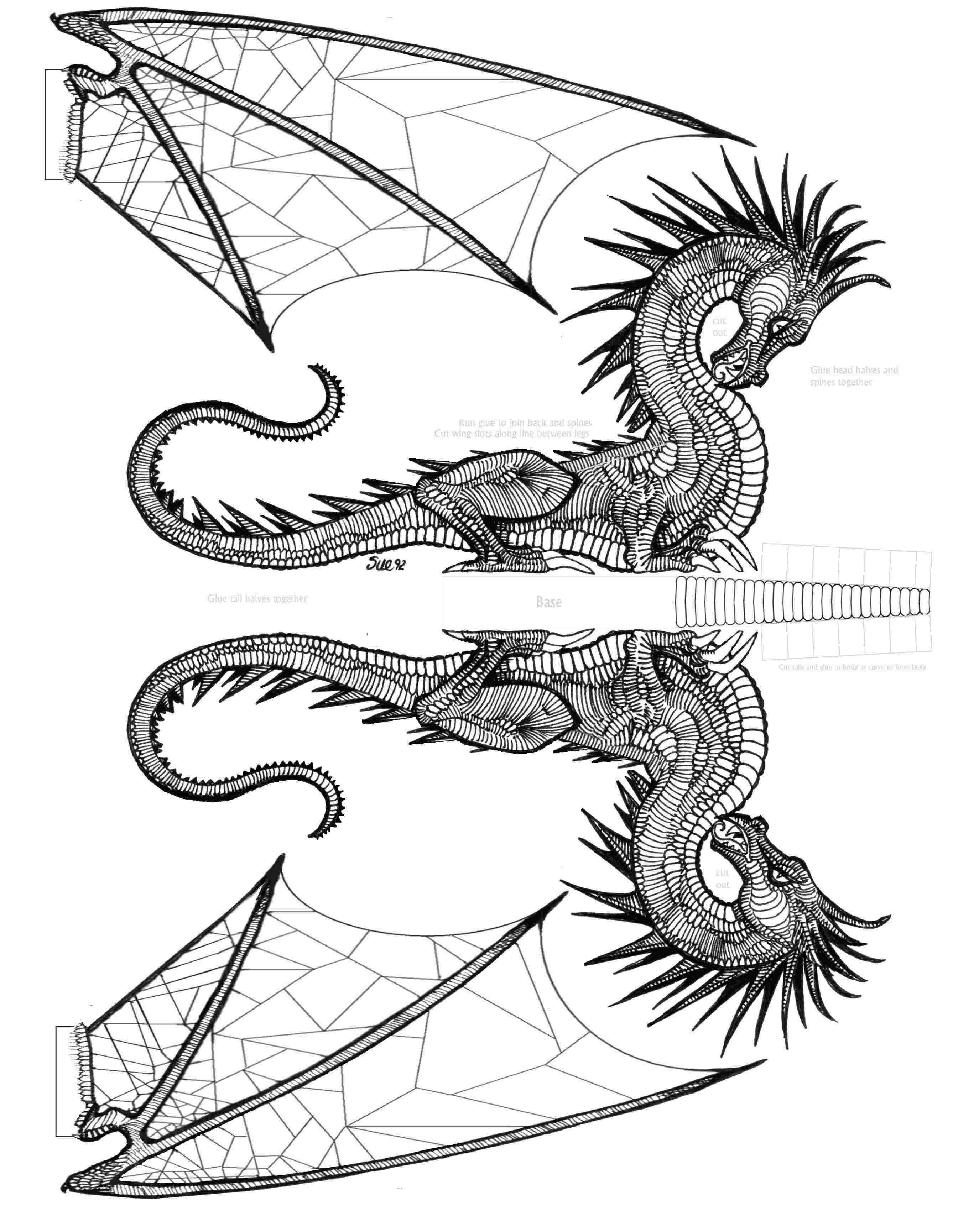 Link to large cutout dragon link to large cutout dragon